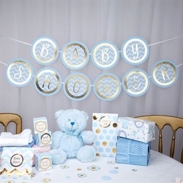 Baby Shower Fest banner Pattern